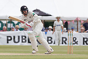 Gareth Roderick flicks to leg during the Specsavers County Champ Div 2 match between Gloucestershire County Cricket Club and Leicestershire County Cricket Club at the Cheltenham College Ground, Cheltenham, United Kingdom on 16 July 2019.