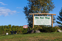 Shin Pond Village in Maine's northern forest. International Appalachian Trail.
