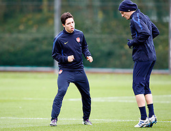 22.11.2010, Colney, London, ENG, UEFA CL, Arsenal Training, im Bild Arsenal's Samir Nasri with Arsenal's Tomas Rosicky, EXPA Pictures © 2010, PhotoCredit: EXPA/ IPS/ Kieran Galvin *** ATTENTION *** UK AND FRANCE OUT!