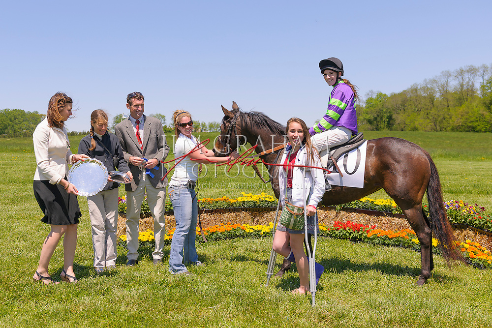 at the Willowdale Steeplechase Races, Sunday 12 May 2013. (Photograph by Jim Graham)