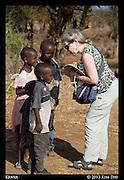 Children near Samburu<br /> Kenya<br /> September 2013