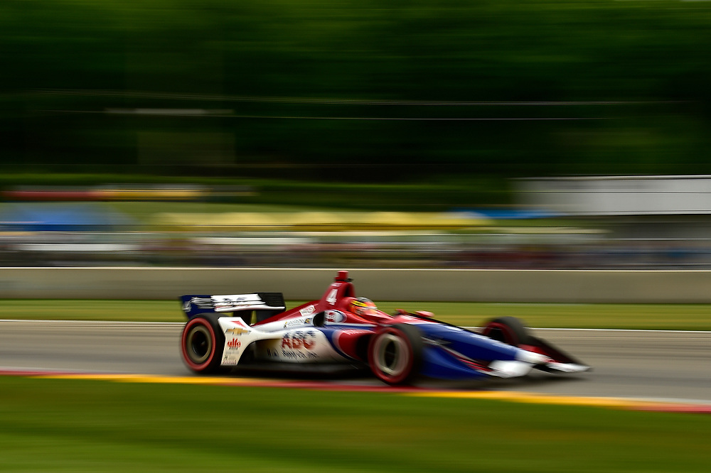 Matheus Leist, A.J. Foyt Enterprises Chevrolet<br /> Friday 22 June 2018<br /> KOHLER Grand Prix at Road America<br /> Verizon IndyCar Series<br /> Road America WI USA<br /> World Copyright: Scott R LePage