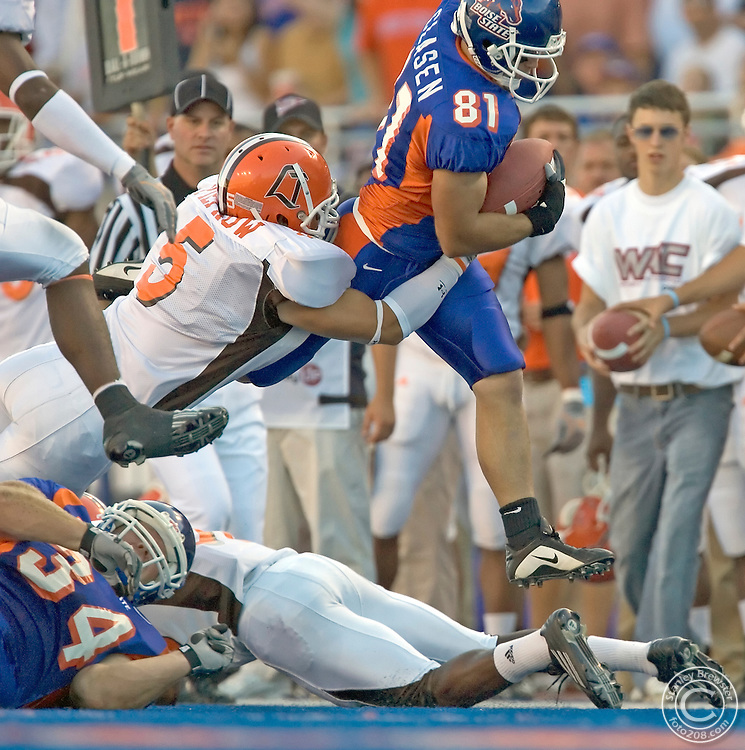 9-20-05 Boise, ID. Boise State Broncos vs the Bowling Green Falcons in Bronco Stadium