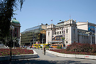 The National Theatre in Republic Square, Belgrade, Serbia