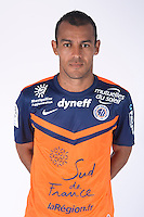 Vitorino HILTON - 23.07.2014 - Portraits officiels Montpellier - Ligue 1 2014/2015<br /> Photo : Icon Sport