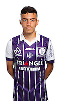 Mathieu Cafaro of Toulouse during the photo shooting session of Toulouse FC for the new season 2016/2017 in Toulouse on September 16th 2016<br /> Photo : TFC / Icon Sport
