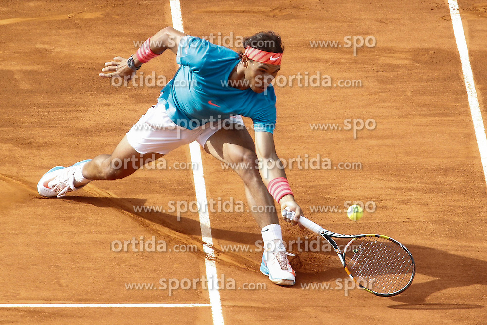06.05.2015, Caja Magica, Madrid, ESP, ATP Tour, Mutua Madrid Open, im Bild Rafael Nadal from Spain // during the Madrid Open of ATP World Tour at the Caja Magica in Madrid, Spain on 2015/05/06. EXPA Pictures &copy; 2015, PhotoCredit: EXPA/ Alterphotos/ Victor Blanco<br /> <br /> *****ATTENTION - OUT of ESP, SUI*****