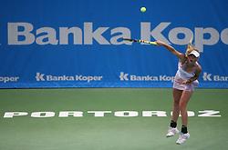 Caroline Wozniacki of Denmark at 1st Round of Banka Koper Slovenia Open 2008, on July 21, 2008, Portoroz - Portorose, Slovenia. (Photo by Vid Ponikvar / Sportal Images)...