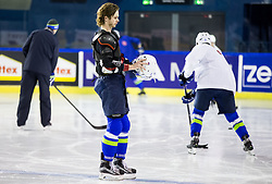 Ziga Jeglic of Slovenia during practice session of Team Slovenia at the 2017 IIHF Men's World Championship, on May 11, 2017 in AccorHotels Arena in Paris, France. Photo by Vid Ponikvar / Sportida