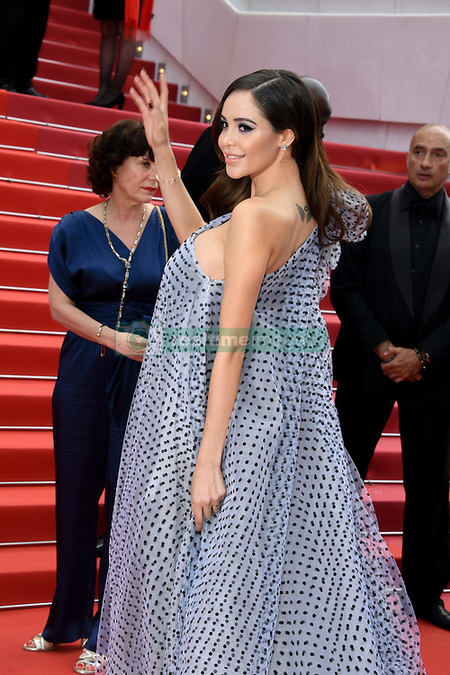 May 22, 2019 - Cannes, France - 72eme Festival International du Film de Cannes. Montée des marches du film ''Roubaix, une lumiere (Oh Mercy!)''. 72th International Cannes Film Festival. Red Carpet for ''Roubaix, une lumiere (Oh Merci!)'' movie.....239728 2019-05-22  Cannes France.. Benattia, Nabilla (Credit Image: © L.Urman/Starface via ZUMA Press)