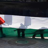 Demonstration against the israeli attacks on  Lebanon,  Edinburgh  29 July 2006<br />