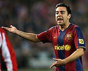 Xavi Hernandez of Barcelona and Spain. 2007/2008