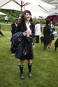 KATIE TURNER, Cartier Style et Luxe lunch. Goodwood.  24 June 2007.  -DO NOT ARCHIVE-© Copyright Photograph by Dafydd Jones. 248 Clapham Rd. London SW9 0PZ. Tel 0207 820 0771. www.dafjones.com.