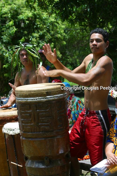 Hakahau, Ua Pou, Marquesas, French Polynesia, (editorial use only, no model release)<br />