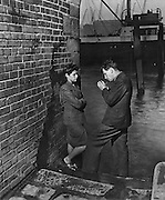 Rendez vous at Hermitage stairs, Wapping c1935