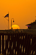 Sunset on San Clemente Pier