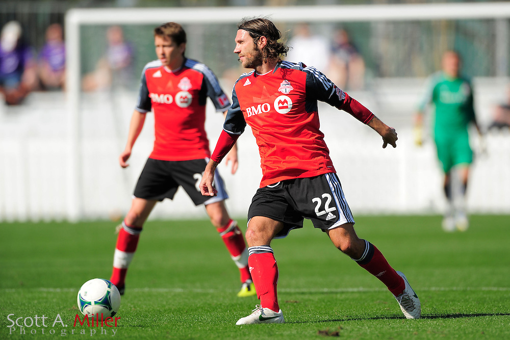 Toronto FC midfielder Torsten Frings (22) during the Disney Pro Soccer Classic on Feb 9, 2013  in Lake Beuna Vista, Florida. ..©2013 Scott A. Miller