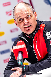 18.02.2019, Seefeld, AUT, FIS Weltmeisterschaften Ski Nordisch, Seefeld 2019, Langlauf, Pressekonferenz, im Bild Markus Gandler (AUT, Sportlicher Leiter Langlauf und Biathlon) // Markus Gandler of Austria (Sports Director Cross Country and Biathlon) during a press conferenc of Cross Country before the FIS Nordic Ski World Championships 2019. Seefeld, Austria on 2019/02/18. EXPA Pictures © 2019, PhotoCredit: EXPA/ JFK