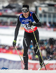 19.02.2015, Lugnet Ski Stadium, Falun, SWE, FIS Weltmeisterschaften Ski Nordisch, Langlauf, Damen, Sprint, im Bild Gianluca Cologna (SUI) // during the Cross Country Ladies Sprint of the FIS Nordic Ski World Championships 2015 at the Lugnet Ski Stadium, Falun, Sweden on 2015/02/19. EXPA Pictures © 2015, PhotoCredit: EXPA/ JFK