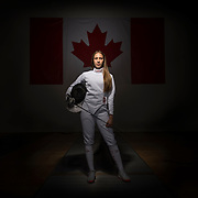 Portraits and action photos at Dynamo Fencing.