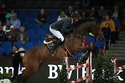 Dubbeldam Jeroen, (NED), SFN Zenith NOP<br /> Prize of Raumpflege Jumping<br /> Stuttgart - German Masters 2015<br /> © Hippo Foto - Stefan Lafrentz
