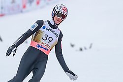 23.03.2018, Planica, Ratece, SLO, FIS Weltcup Ski Sprung, Planica, Skiflug, Einzelbewerb, Finale, im Bild Robert Johansson (NOR) // Robert Johansson of Norway during the Ski Flying Hill Individual competition of the FIS Ski Jumping World Cup Final 2018 at Planica in Ratece, Slovenia on 2018/03/23. EXPA Pictures © 2018, PhotoCredit: EXPA/ JFK