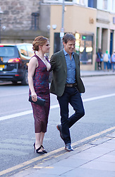 Edinburgh International Film Festival, Saturday, 24 June 2018<br /> <br /> THE PARTING GLASS (WORLD PREMIERE)<br /> <br /> Pictured:  Stephen Moyer and Anna Paquin (act)<br /> <br /> <br /> (c) Alex Todd   Edinburgh Elite media