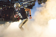 NEW ORLEANS, LA - NOVEMBER 8:  Drew Brees #9 of the New Orleans Saints runs onto the field before a game against the Tennessee Titans at Mercedes-Benz Superdome on November 8, 2015 in New Orleans, Louisiana.  The Titans defeated the Saints in overtime 34-28.  (Photo by Wesley Hitt/Getty Images) *** Local Caption *** Drew Brees