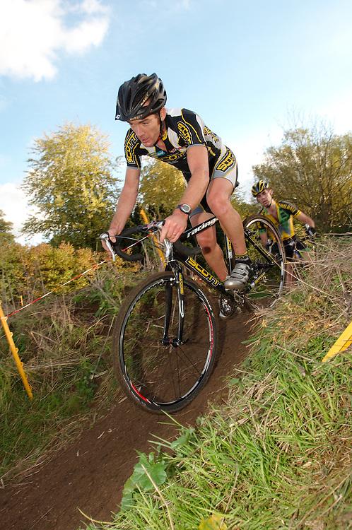 National Trophy cyclocross, Chantry Park, Ipswich, Suffolk UK. October 29, 2006