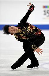 23.03.2010, Torino Palavela, Turin, ITA, ISU World Figure Skating Championships Turin 2010, Männer Kurzprogramm, im Bild Daisuke Takahashi (JPN) momentary first place, EXPA Pictures © 2010, PhotoCredit: EXPA/ InsideFoto/ Perottino / SPORTIDA PHOTO AGENCY