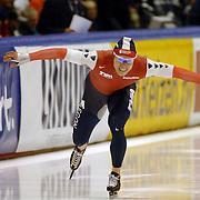 NLD/Heerenveen/20060122 - WK Sprint 2006, 2de 500 meter heren, Gerard van Velde