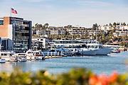 Newport Marina Photographed from Lido Isle