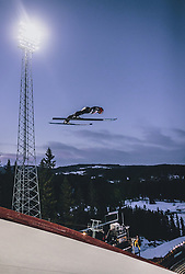 11.03.2020, Granasen, Trondheim, NOR, FIS Weltcup Skisprung, Raw Air, Trondheim, Herren, im Bild Stephan Leyhe (GER) // Stephan Leyhe of Germany during men's 3rd Stage of the Raw Air Series of FIS Ski Jumping World Cup at the Granasen in Trondheim, Norway on 2020/03/11. EXPA Pictures © 2020, PhotoCredit: EXPA/ JFK