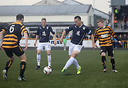 Gavin Rae - Alloa Athletic v Dundee, SPFL Championship at Recreation Park, Alloa<br /> <br />  - &copy; David Young - www.davidyoungphoto.co.uk - email: davidyoungphoto@gmail.com
