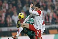 POLAND, Poznan : Robert Lewandowski of Poland during their international friendly football match in Poznan on November 17, 2010. Photo: Piotr Hawalej / WROFOTO
