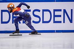12-01-2018 DUI: ISU European Short Track Championships 2018 day 1, Dresden<br /> Sjinkie Knegt NED #2