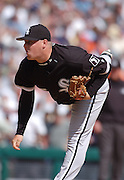 Apr 11, 2006; Detroit, MI, USA: Chicago White Sox closer Bobby Jenks, Comerica Park.