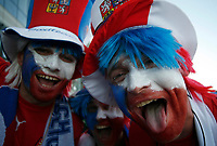 Photo: Steve Bond.<br /> USA v Czech Republic. Group E, FIFA World Cup 2006. 12/06/2006.<br /> Czech fans before their win against USA at Gelsenkirchen.