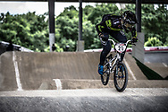 #21 (REYNOLDS Lauren) AUS at Round 6 of the 2019 UCI BMX Supercross World Cup in Saint-Quentin-En-Yvelines, France