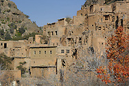 AlJebel al Akhdar or Green Mountain lies at the heart of the Al Hajar mountains of northern Oman, in Dakhiliyah governorate