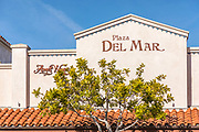 Plaza Del Mar and Angel Wings Signage