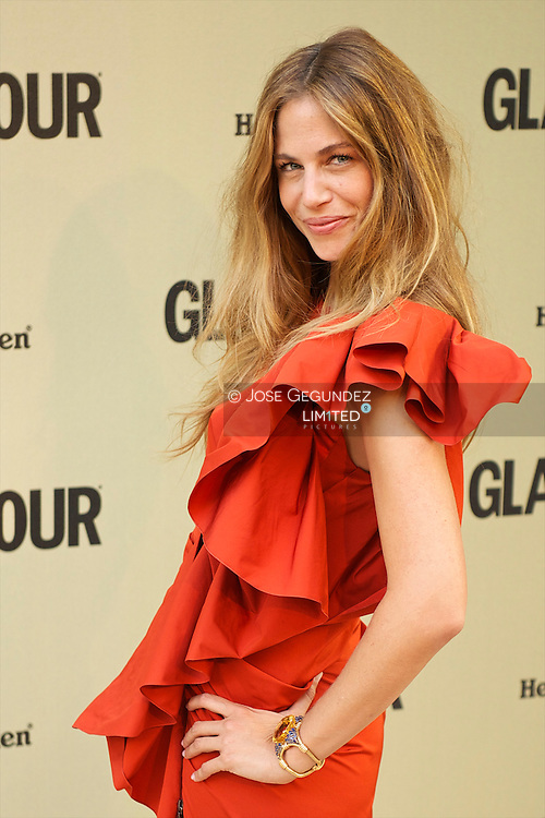 Martina Klein attends Glamour magazine 10th Anniversary party at Italian Embassy in Madrid, Spain