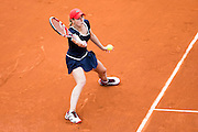 Paris, France. Roland Garros. June 1st 2013.<br /> French player Alize CORNET against Victoria AZARENKA