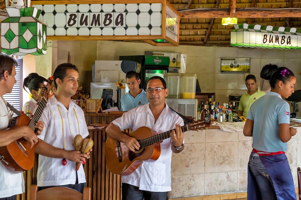 Restaurante El Palenque in Havana Playa, Cuba.