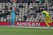James Vince batting during the ICC Cricket World Cup 2019 warm up match between England and Australia at the Ageas Bowl, Southampton, United Kingdom on 25 May 2019.