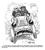 Early Motoring Cartoons