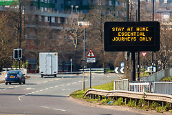 Signs of the Coronavirus. <br />
