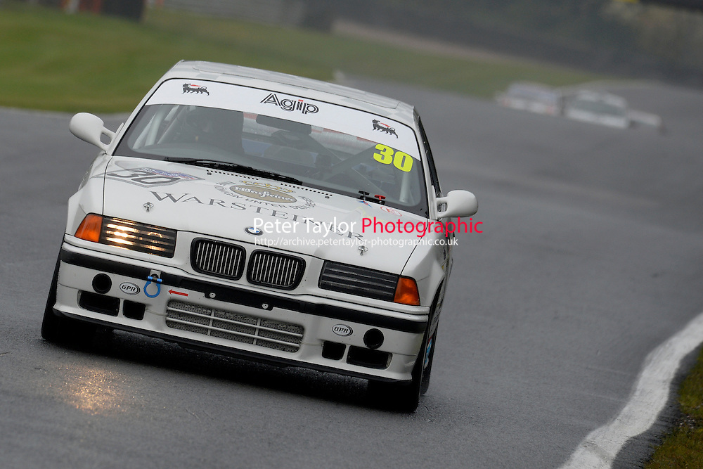 #30 Gavin Dunn BMW E36 2800 during the CSCC New Millennium and CSCC Modern Classics at Oulton Park, Little Budworth, Cheshire, United Kingdom. October 15 2016. World Copyright Peter Taylor/PSP. <br /> Copy of publication required for printed pictures.  Every used picture is fee-liable. http://archive.petertaylor-photographic.co.uk