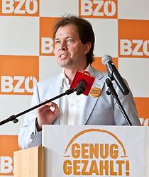 26.05.2011, Tauern SPA, Kaprun, AUT, BZÖ Klubklausur, Kaprun, im Bild Energiesprecher Abg. Mag. Rainer Widmann (BZÖ), EXPA Pictures © 2011, PhotoCredit: EXPA/ J. Feichter