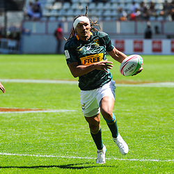 Justin Geduld of South Africa during the match between South Africa and Samoa at the HSBC Paris Sevens, stage of the Rugby Sevens World Series on June 2, 2019 in Paris, France. (Photo by Sandra Ruhaut/Icon Sport)
